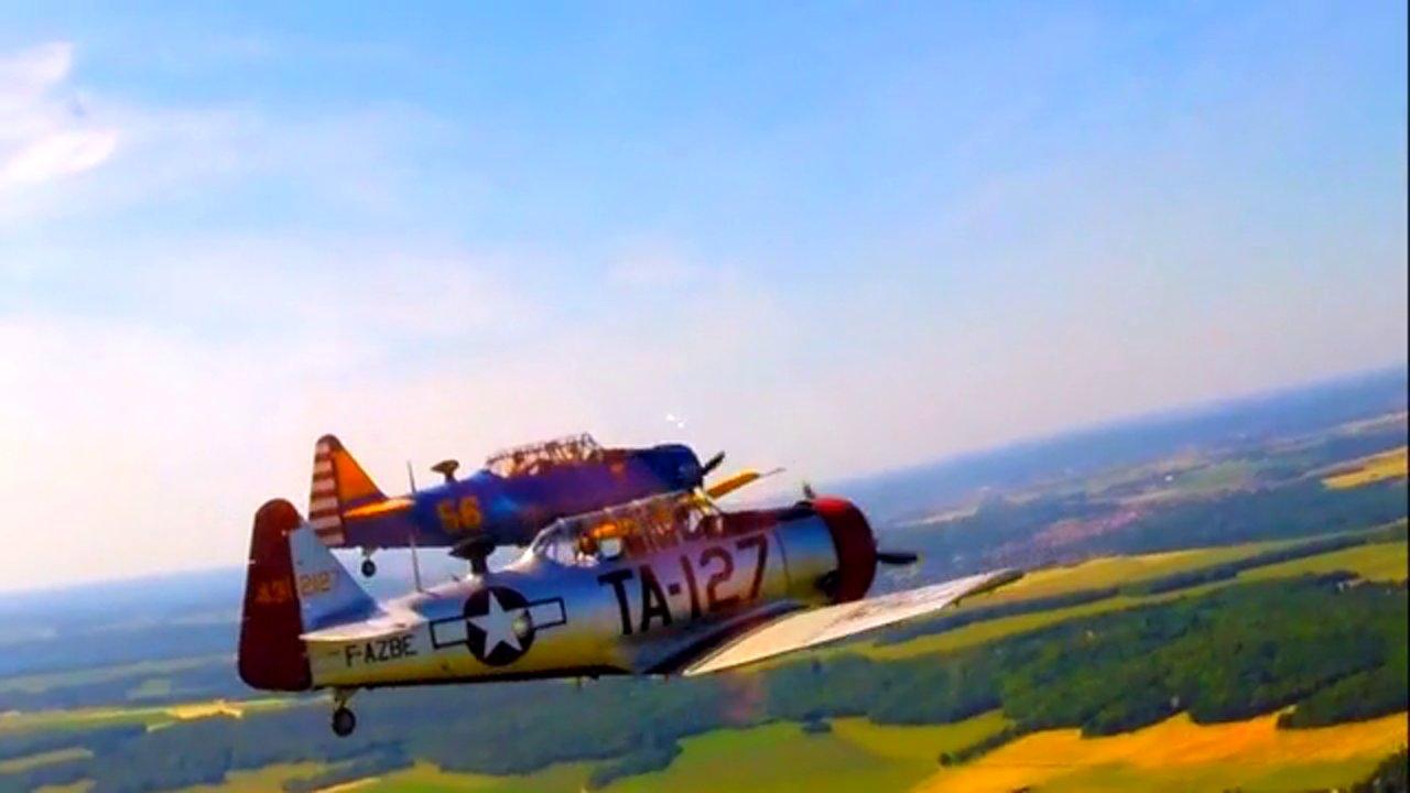 Meeting aérien de La Ferté Alais – L'attaque de Tora Tora à Pearl Harbour avec Jack Krine